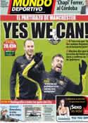 Portada Mundo Deportivo del 18 de Febrero de 2014