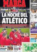 Portada diario Marca del 19 de Febrero de 2014