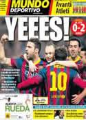 Portada Mundo Deportivo del 19 de Febrero de 2014