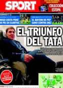 Portada diario Sport del 20 de Febrero de 2014