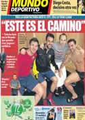 Portada Mundo Deportivo del 20 de Febrero de 2014