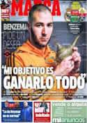 Portada diario Marca del 22 de Febrero de 2014