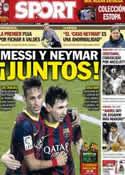Portada diario Sport del 22 de Febrero de 2014
