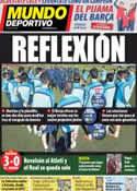 Portada Mundo Deportivo del 24 de Febrero de 2014