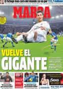Portada diario Marca del 25 de Febrero de 2014
