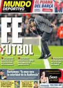 Portada Mundo Deportivo del 25 de Febrero de 2014