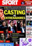 Portada diario Sport del 26 de Febrero de 2014