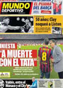 Portada Mundo Deportivo del 26 de Febrero de 2014