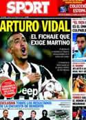 Portada diario Sport del 27 de Febrero de 2014