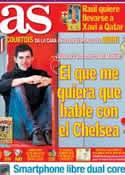 Portada diario AS del 28 de Febrero de 2014