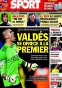 Portada diario Sport del 1 de Marzo de 2014