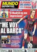 Portada Mundo Deportivo del 1 de Marzo de 2014