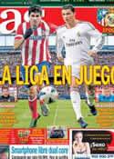 Portada diario AS del 2 de Marzo de 2014