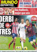 Portada Mundo Deportivo del 2 de Marzo de 2014