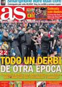 Portada diario AS del 3 de Marzo de 2014