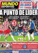 Portada Mundo Deportivo del 3 de Marzo de 2014