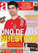 Portada diario AS del 4 de Marzo de 2014