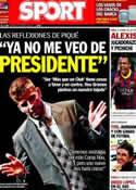Portada diario Sport del 4 de Marzo de 2014