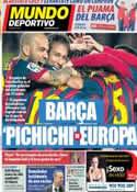 Portada Mundo Deportivo del 4 de Marzo de 2014