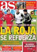 Portada diario AS del 5 de Marzo de 2014