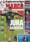 Portada diario Marca del 5 de Marzo de 2014
