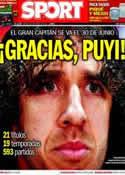 Portada diario Sport del 5 de Marzo de 2014