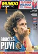 Portada Mundo Deportivo del 5 de Marzo de 2014