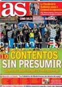 Portada diario AS del 6 de Marzo de 2014