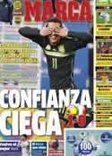 Portada diario Marca del 6 de Marzo de 2014