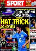 Portada diario Sport del 6 de Marzo de 2014