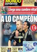 Portada Mundo Deportivo del 6 de Marzo de 2014