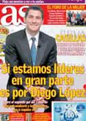 Portada diario AS del 7 de Marzo de 2014