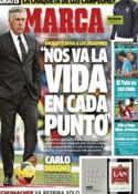 Portada diario Marca del 8 de Marzo de 2014