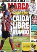 Portada diario Marca del 9 de Marzo de 2014