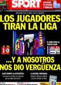 Portada diario Sport del 9 de Marzo de 2014