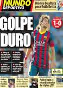 Portada Mundo Deportivo del 9 de Marzo de 2014