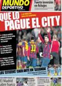 Portada Mundo Deportivo del 10 de Marzo de 2014