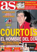 Portada diario AS del 11 de Marzo de 2014