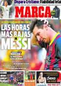 Portada diario Marca del 11 de Marzo de 2014