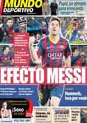Portada Mundo Deportivo del 11 de Marzo de 2014