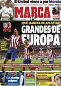 Portada diario Marca del 12 de Marzo de 2014