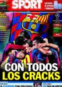 Portada diario Sport del 12 de Marzo de 2014