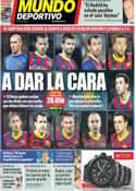 Portada Mundo Deportivo del 12 de Marzo de 2014