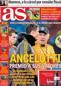 Portada diario AS del 14 de Marzo de 2014