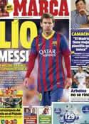 Portada diario Marca del 14 de Marzo de 2014