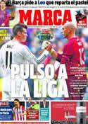 Portada diario Marca del 15 de Marzo de 2014