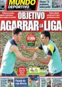 Portada Mundo Deportivo del 16 de Marzo de 2014