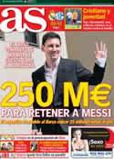 Portada diario AS del 18 de Marzo de 2014