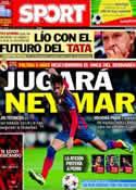 Portada diario Sport del 18 de Marzo de 2014