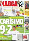 Portada diario Marca del 19 de Marzo de 2014